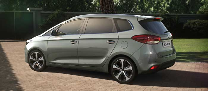 kia carens best family cars in egypt