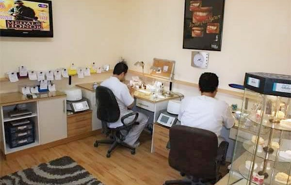 Dental Lab Dr Hesham Rashed Working